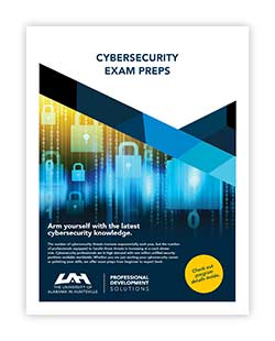 Cybersecurity Exam Preps Brochure